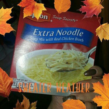 Photo of Lipton Soup Secrets Extra Noodle with Real Chicken Broth Soup - 2 CT uploaded by Angelina A.