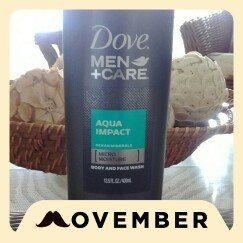 Dove Men+Care Body & Face Wash Aqua Impac uploaded by Yesica Z.