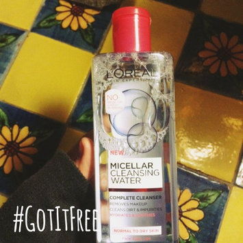 L'Oréal Paris Micellar Cleansing Water for Normal to Dry Skin uploaded by Ashley E.