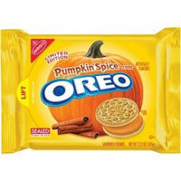 Oreo Limited Edition Pumpkin Spice Creme Sandwich Cookies uploaded by Jennifer I.