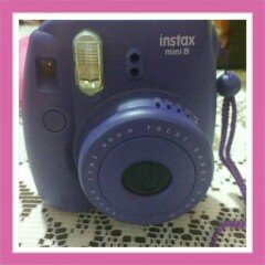 Photo of Fujifilm Instax Mini 8 Instant Film Camera (Grape) uploaded by Elizabeth C.