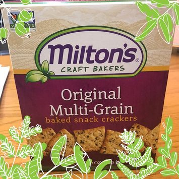 Photo of Miltons Original Multi-Grain Baked Snack Crackers, 9 oz, - Pack of 12 uploaded by Xiomara S.