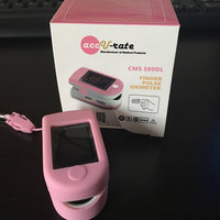 AccuRate Deluxe Finger Pulse Oximeter with Custom Soft Skin Cover uploaded by Ashley W.