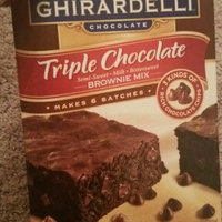 Ghirardelli Triple Chocolate Brownie Mix uploaded by Mary B.