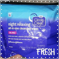 Clean & Clear® Night Relaxing™ All-in-one Cleansing Wipes uploaded by Jessica A.