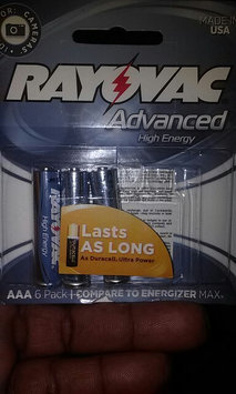 Photo of Rayovac Advanced High Energy AA Batteries, 6-Pack uploaded by Benji P.