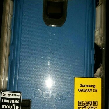 Otterbox [Defender Series] Samsung Galaxy S5 Case - Retail Packaging Protective Case for Galaxy S5 - Blueprint uploaded by Alison H.
