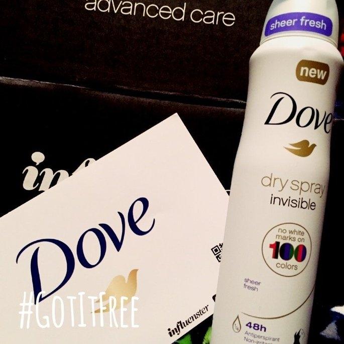 Dove® Invisible Antiperspirant Dry Spray Sheer Fresh uploaded by Brittney P.