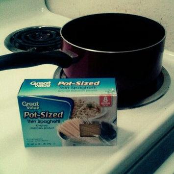 Photo of Great Value Pot-Sized Thin Spaghetti Pasta, 16 oz uploaded by Vanessa O.
