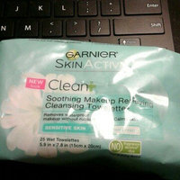 Maybelline Garnier The Soothing Remover Sensitive Skin Cleansing Towelettes uploaded by Janelle G.