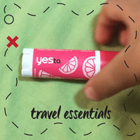 Yes To Lip Naturally Smooth Lip Balm with SPF15 - Pomegranate uploaded by Joanna G.