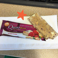 QUEST NUTRITION White Chocolate Raspberry Protein Bar uploaded by Stephenie D.