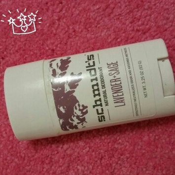 Photo of Schmidt's Deodorant Lavender + Sage Deodorant uploaded by Jessica L.