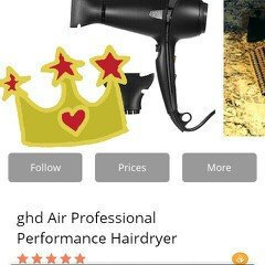 Photo of ghd Air Professional Performance Hairdryer uploaded by Felisha L.