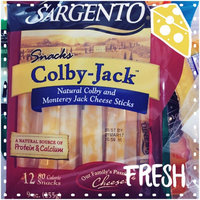 Sargento Reduced Fat Colby-Jack Natural Cheese Sticks - 12 PK uploaded by Lauren B.
