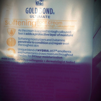 Photo of Gold Bond Ultimate Softening Foot Cream with Shea Butter uploaded by Fran E.