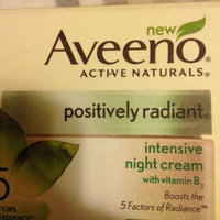 AVEENO® POSITIVELY RADIANT® Intensive Night Cream uploaded by S F.
