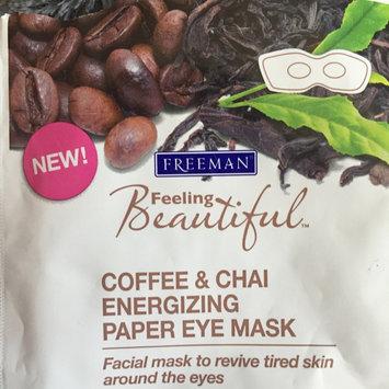 Photo of Freeman Beauty Feeling Beautiful Coffee & Chai Energizing Paper Eye Mask uploaded by Brittany C.