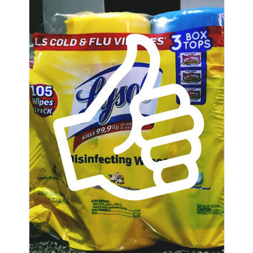 Lysol Disinfecting Wipes - Lemon uploaded by Brenda R.