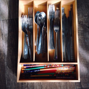 Photo of Threshold Bamboo Flatware Drawer Organizer uploaded by Sylviah S.