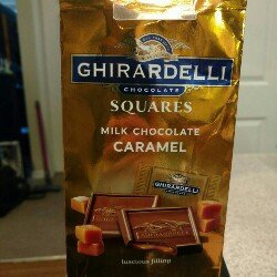 Ghirardelli Chocolate Squares Milk & Caramel uploaded by Jamy J.