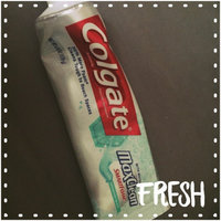 Colgate MaxClean with SmartFoam Anticavity FluorideToothpaste, Spearmint Blast uploaded by Maria I.