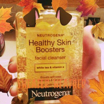 Photo of Neutrogena® Healthy Skin Boosters Facial Cleanser uploaded by Christina C.