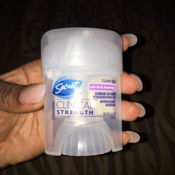 Secret® Clinical Strength Smooth Solid Women's Antiperspirant & Deodorant Fearlessly Fresh Scent uploaded by JaNique C.