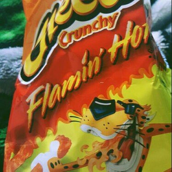 Cheetos Flamin' Hot Crunchy Cheese Flavored Snacks uploaded by Deedee S.