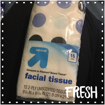 up & up Pocket Pack Facial Tissue 4 pk 15 ct each uploaded by Alicia E.