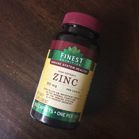 Finest Nutrition Zinc 50mg Caplets 100s uploaded by Vanna L.