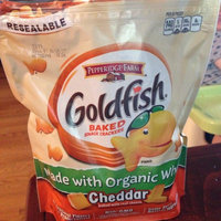 Goldfish® Baked Organic Wheat Cheddar Snack Crackers uploaded by Miranda W.