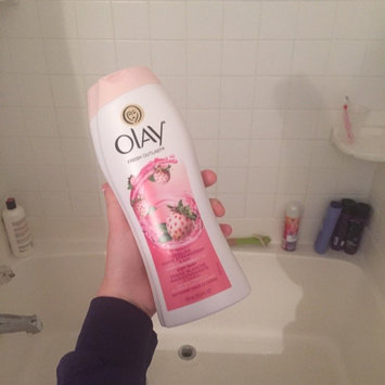 Olay Fresh Outlast Body Wash, Cooling White Strawberry & Mint, 13.5 fl oz uploaded by Kathryn G.