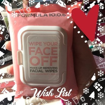 Formula 10.0.6 Wipe Your Face Off Make-Up Removing Facial Wipes uploaded by Johnnielynn R.
