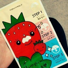 Tony Moly Strawberry Nose Pack uploaded by Cassandra P.