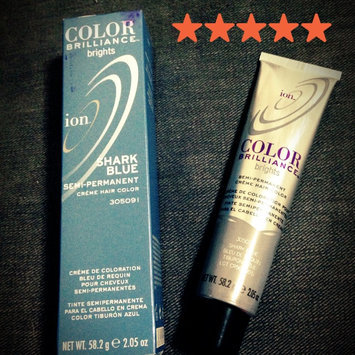 Photo of Ion Color Brilliance Brights Semi-Permanent Hair Color Shark Blue uploaded by Danielle S.