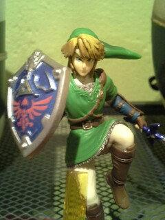 Photo of Nintendo Link amiibo Figure uploaded by Mia S.