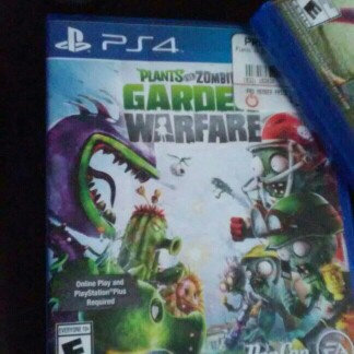 Photo of Electronic Arts Plants vs Zombies: Garden Warfare (PlayStation 4) uploaded by Ana M.