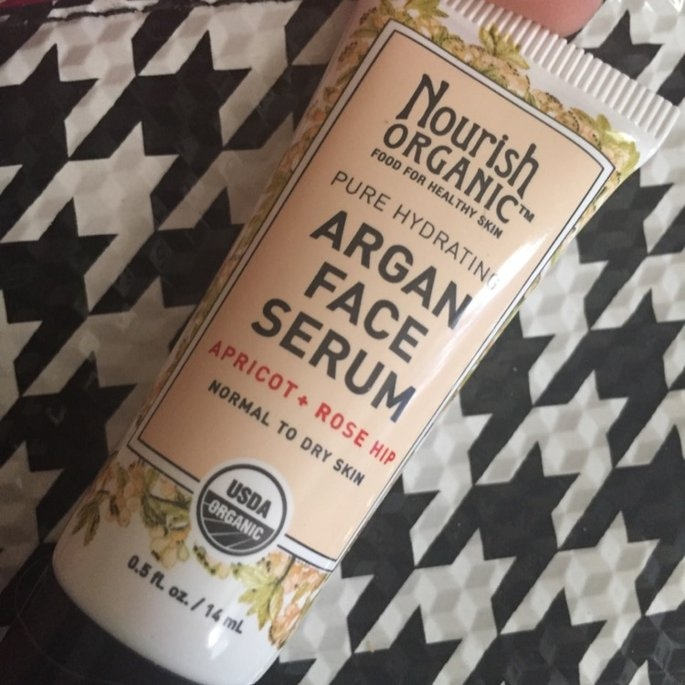 Nourish Organic Argan Face Serum Apricot + Rosehip uploaded by Amber K.