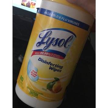 Lysol Disinfecting Wipes - Lemon uploaded by Jnetta O.