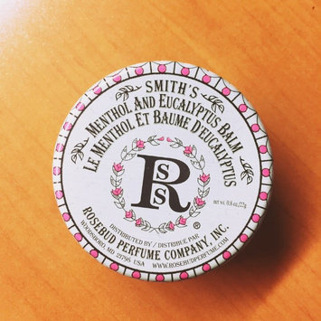 Rosebud Perfume Co. Smith's Menthol and Eucalyptus Balm uploaded by amber k.