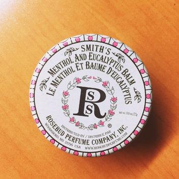 Photo of Rosebud Perfume Co. Smith's Menthol and Eucalyptus Balm uploaded by Amber K.