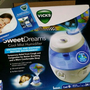 Vicks® Sweet Dreams Cool Mist Humidifier uploaded by Annella C.