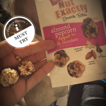 FISHER NUT EXACTLY® Snack Bites - Almond Popcorn dipped in Milk Chocolate uploaded by Tiffany K.