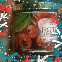 Bath & Body Works Frosted Cranberry 3 Wick Scented Candle uploaded by Lara A.
