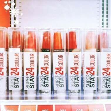 Maybelline Super Stay 24hr Ultimate Red Duo Lips - Amber Allure uploaded by laura t.