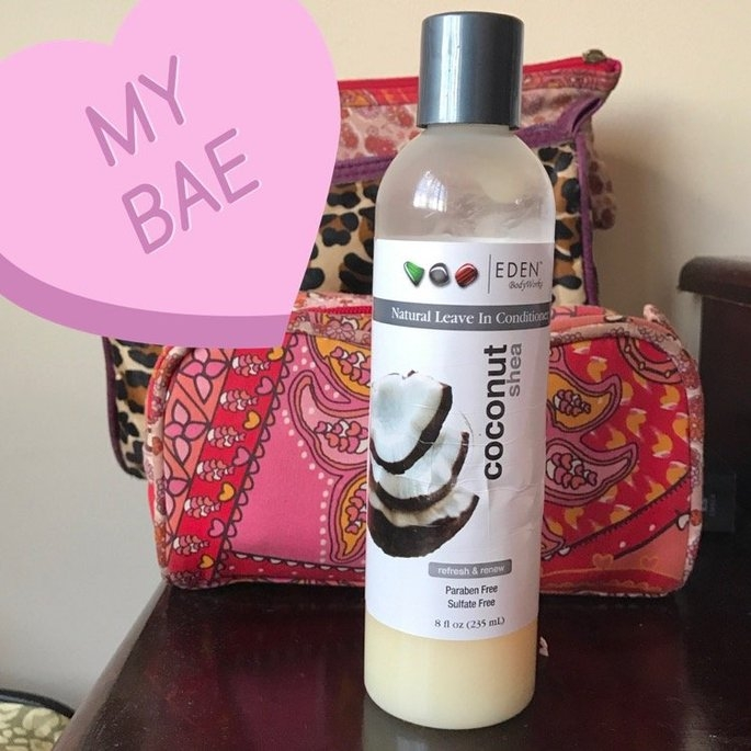 EDEN BodyWorks Coconut Shea All Natural Leave In Conditioner uploaded by Natalia V.