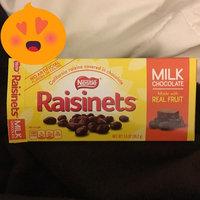 Nestlé RAISINETS Milk Chocolate Real Fruit uploaded by Cassie L.