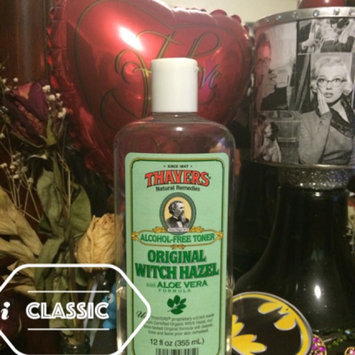 Photo of Thayer,henry Thayer's: Witch Hazel with Aloe Vera, Original Toner 12 oz uploaded by Aurora G.