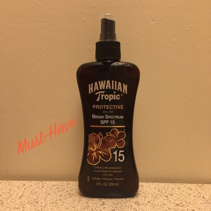 Hawaiian Tropic Protective Dry Oil Sunscreen uploaded by Taryn R.